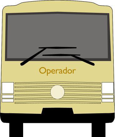 Autobús: parte delantera