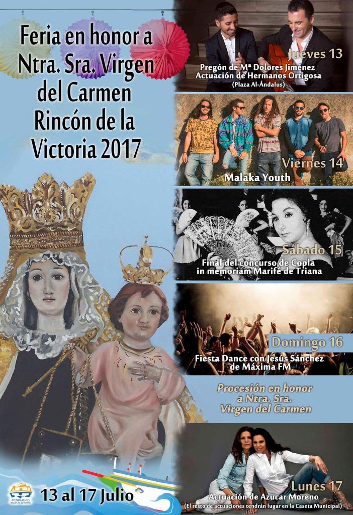 Cartel feria de Rincón de la Victoria 2017