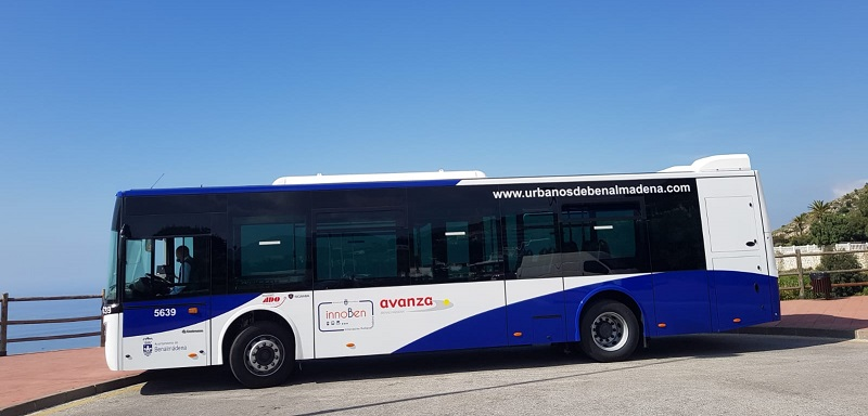 Incorporación de un nuevo vehículo a la ruta de autobús urbano de Benalmádena M-103 Estupa-Nueva Torrequebrada