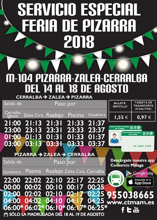 Refurzos M-104 Feria de Pizarra 2018
