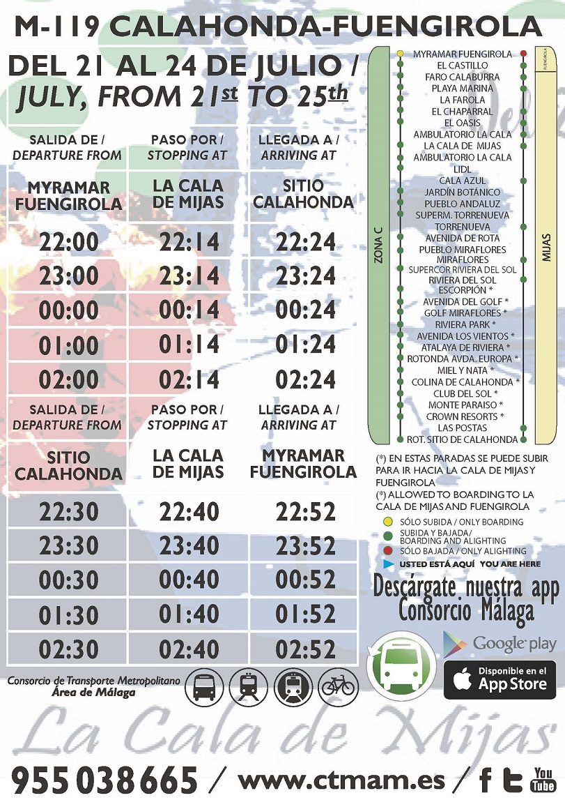 M-119 Feria Cala Mijas 2017