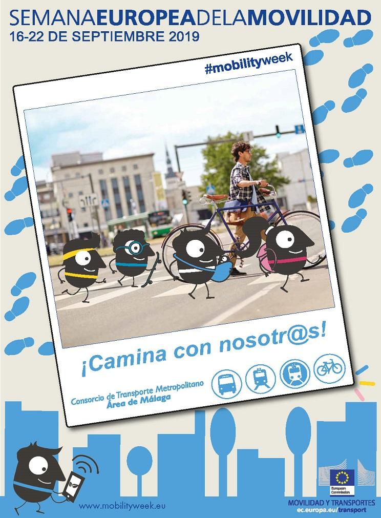 Semana Europea de la Movilidad 2019 Consorcio de transporte Málaga