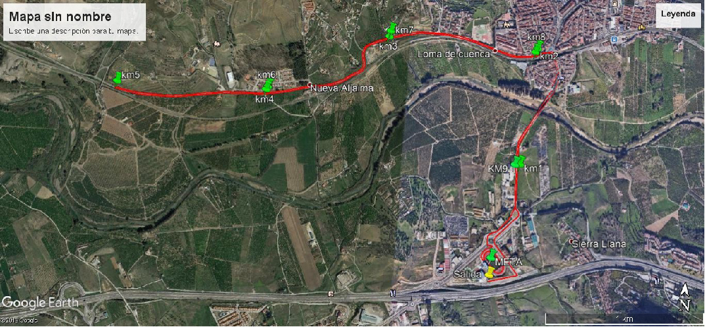 V carrera Valle del Azahar