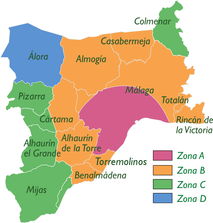 Mapa Zonificaci�n