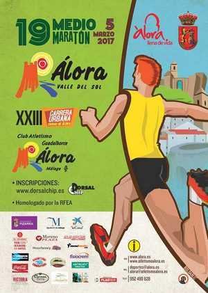 "XIX Medio Maratón ""Álora - Valle del Sol"""