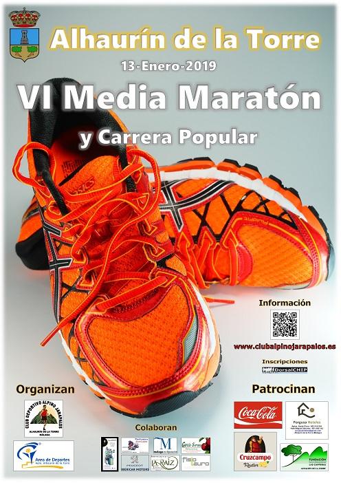 6 media maraton alhaurin de la torre 13 diciembre 2019