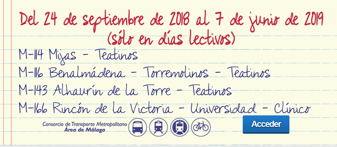 servicios universitarios 2018-2019 CTMAM