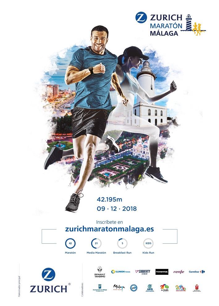 maratón de málaga 2018 consorcio transporte